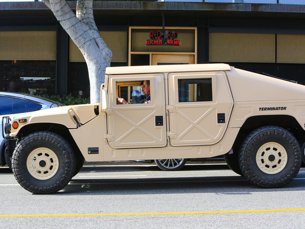 Arnold Schwarzenegger Still Loves His Hummer