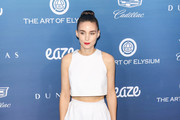Rooney Mara is seen attending at the Art of Elysium's 12th Annual Celebration Heaven at the Cosmetic Plaza in Los Angeles, California.