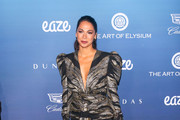 Moran Atias is seen attending at the Art of Elysium's 12th Annual Celebration Heaven at the Cosmetic Plaza in Los Angeles, California.
