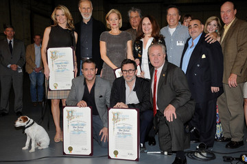 Penelope Ann Miller Jean Dujardin The Artist Receives the 'Made in Hollywood' Award