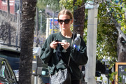 Ashlee Simpson Shows Off Her Chanel Bag