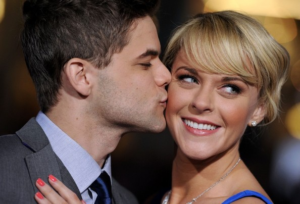 Jeremy Jordan with cool, beautiful, cute, Wife Ashley Spencer