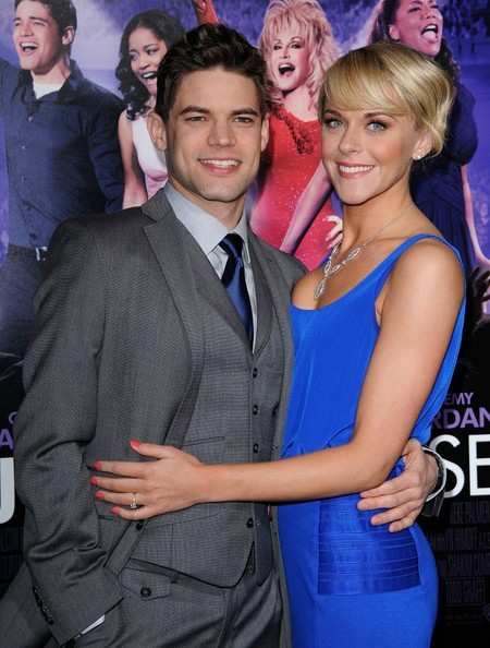 Ashley Spencer and jeremy jordan