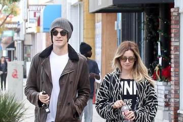 Ashley Tisdale Christopher French and Ashley Tisdale Out and About