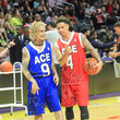 Austin McBroom Ace Family Chris Brown Basketball Charity Event at Staples Center