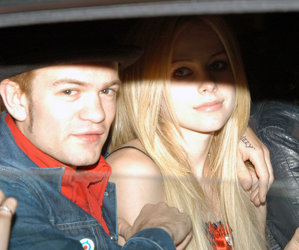 avril lavigne and deryck whibley. Avril Lavigne and Deryck