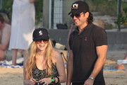 Avril Lavigne spends the Holiday Season in St Barth with her new boyfriend, Andrew Levitas.