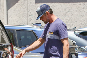 Axl Duhamel Josh Duhamel and Son Axl Are Seen out Hand-in-Hand