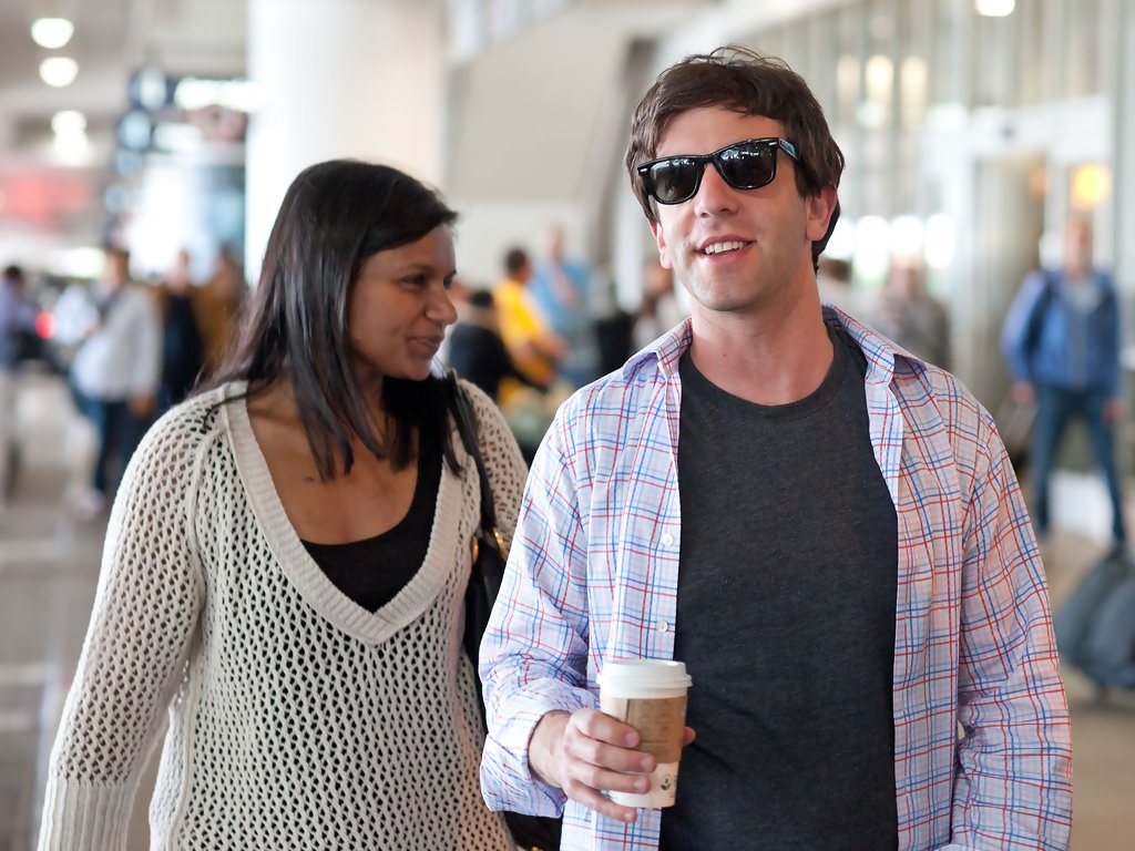 are novak and mindy kaling dating in real life