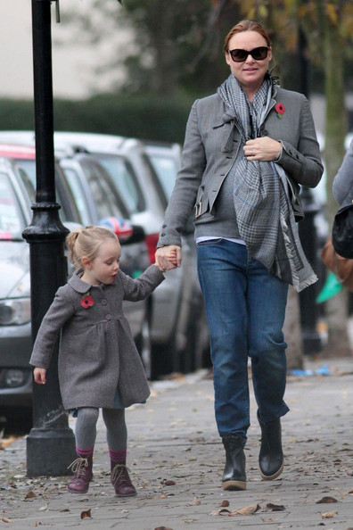 Photo of Stella McCartney & her Daughter  Bailey Linda Olwyn Willis
