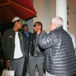 Babyface Kenneth 'Babyface' Edmonds Outside Craig's Restaurant In West Hollywood