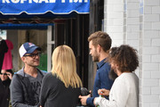 The Bachelor Nick Viall Out With Some Friends