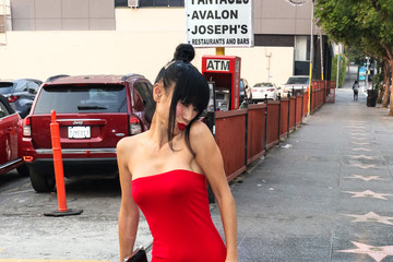 Bai Ling Bai Ling Is Seen At Avalon In Hollywood