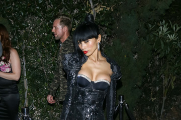 Bai Ling Celebrities Are Seen at Lure Nightclub