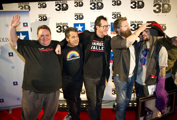 In This Photo: Bam Margera, Preston Lacy, Ryan Dunn, Jeff Tremaine