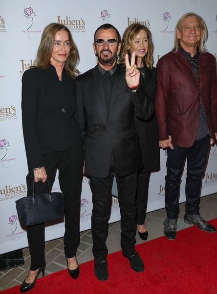 Celebrities Attend Ringo Starr and Barbara Bach Julien's Auctions Event