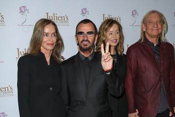 Barbara Bach Joe Walsh Celebrities Attend Ringo Starr and Barbara Bach Julien's Auctions Event
