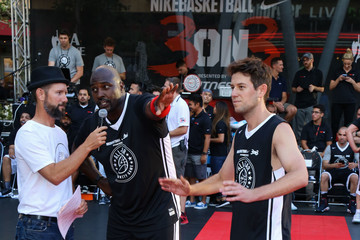Ben Lyons Celebrities Attend the 8th Annual Nike Basketball 3ON3 Tournament at Microsoft Square