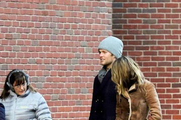 Benjamin Brady Tom Brady and Gisele Bundchen Out in Boston