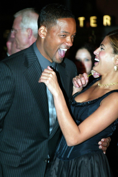 She makes the red carpet fun with Will Smith.