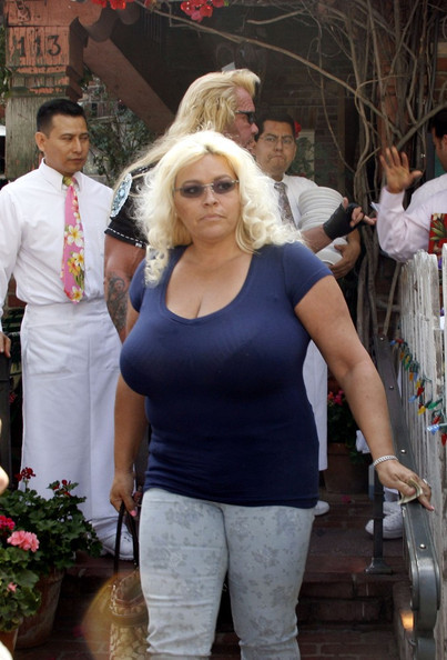 Beth Chapman - Duane and Beth Chapman at The Ivy in LA