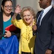 Betty White Betty White at 'Jimmy Kimmel Live!'