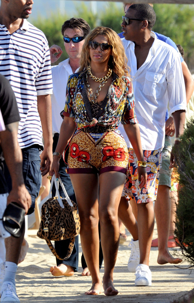 Beyonce and Jay-Z at Club 55