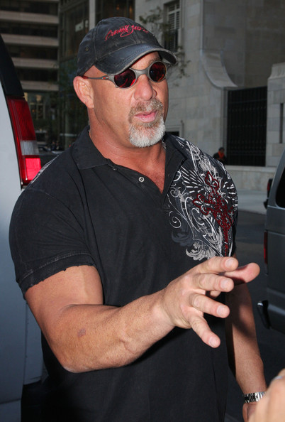 Bill Goldberg Tattoo Bill goldberg with the nypd