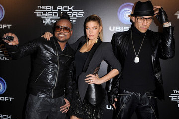 Fergie will.i.am The Black Eyed Peas Experience Launch Party