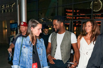 Blair Underwood Desiree Dacosta Blair Underwood And Others Are Seen Outside ArcLight Theatre In Hollywood