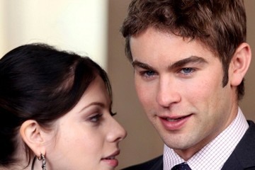 Blake Lively Chace Crawford 'Gossip Girl' Films a Wedding