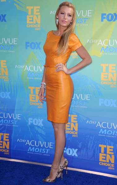 Teen Choice Awards 2011- Blake Lively Wins Choice TV