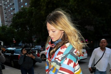 Blake Lively Blake Lively Out and About in NYC