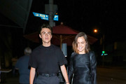 Blake Richardson and Bailee Madison are seen in Los Angeles, California.