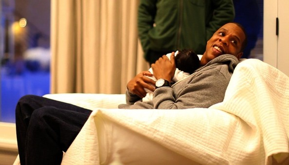 Blue Ivy Carter - First Look at Baby Blue Ivy Carter