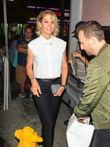 Jenna Elfman Outside No Vacancy Nightclub in Hollywood