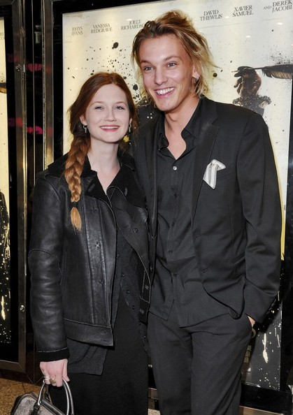 "Bonnie Wright Jamie Campbell Bower Photos - ""Anonymous ..."