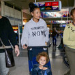 Booker Parker Thandie Newton at LAX International Airport