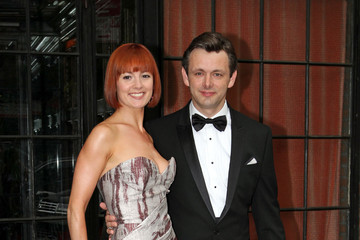 Michael Sheen Lorraine Stewart Guests Leave the Bowery Hotel