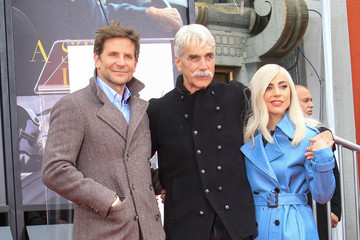 Bradley Cooper Lady Gaga Bradley Cooper Attends The TCL Chinese Theatre Hosts Sam Elliott Hand And Footprint Ceremony