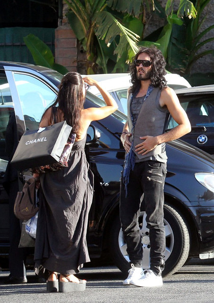 8d18aed21b464 Russell Brand in Russell Brand in Rome - Zimbio