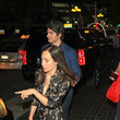 Brandon Routh Courtney Ford Outside The Hard Rock Hotel At San Diego Comic-Con 2018