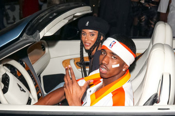 Breah Hicks Christian Combs Is Seen At Justin Combs's Halloween House Party In Beverly Hills