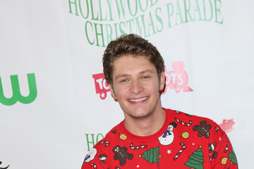 Brett Dier Celebrities Attend the 84th Annual Hollywood Christmas Parade