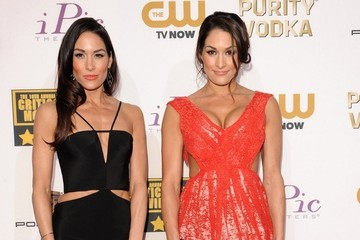 Brie Bella Arrivals at the Critics' Choice Movie Awards