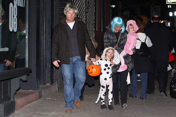 Grier Hency Brooke Shields With Her Family on Halloween