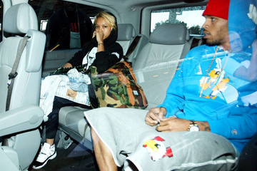 Chris Brown Karrueche Tran Chris Brown Lands in Sydney