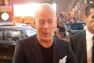 Bruce Willis Bruce Willis Out in Hollywood