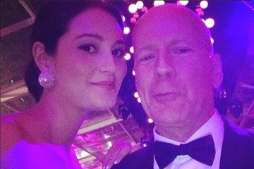 Bruce Willis Celebrity Social Media Pics