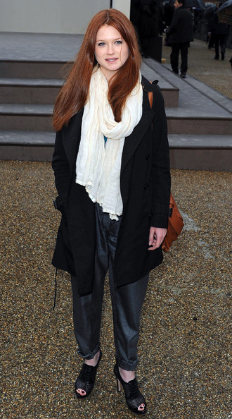 The Burberry Prorsum Autumn/Winter 2010 Women's wear show at the Parade Ground of Chelsea College of Art & Design.